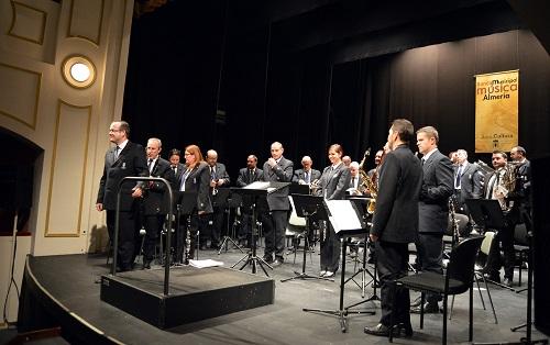 Nuevo éxito de asistencia al concierto de temporada de la Banda Municipal de Música de Almería