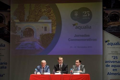 Alcalde Aqualia aniversario