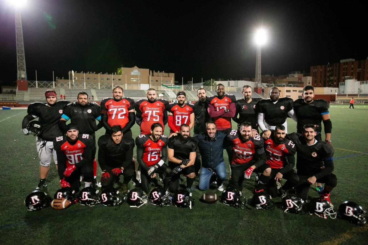 'Barbarians' y su escuela municipal promocionan el fútbol americano entre los almerienses