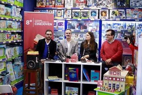 La octava edición de 'Cinejoven' se celebrará del 6 al 8 de diciembre y con aumento de las actividades paralelas