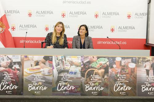 Almería pone en valor la costumbre de pasear, ir de tiendas y de bares por el centro y los barrios con una nueva campaña promocional