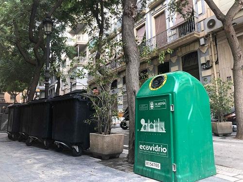 Ayuntamiento reciclaje vidrio