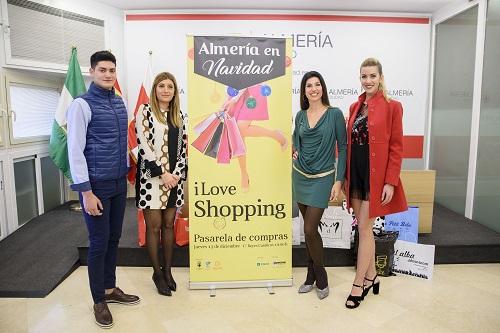 Dos desfiles pasearán la moda de Almería para las fiestas y las compras de la Navidad