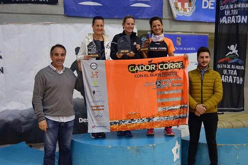 Juan José Foulquie y Ana Belén Baltanás ganan la Ultramaratón Costa de Almería, con meta en El Toyo