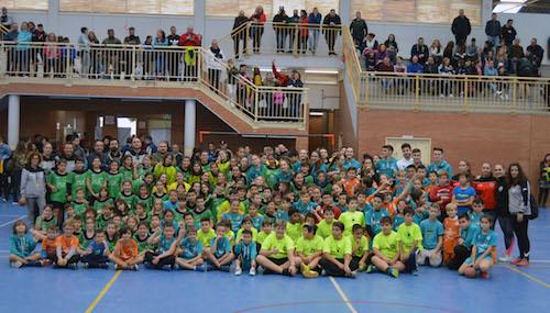 Cuatro clubes de balonmano celebran un encuentro lúdico y técnico con más de 400 jugadores