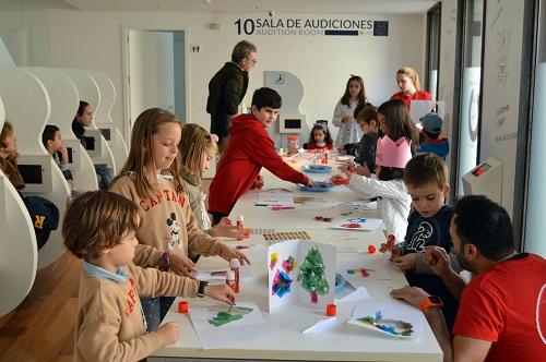Talleres infantiles navideños en la red de museos del Ayuntamiento de Almería