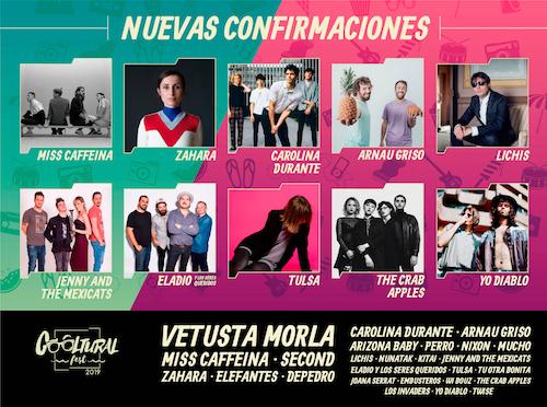 Miss Caffeina y Zahara encabezan las nuevas incorporaciones al cartel de Cooltural Fest 2019