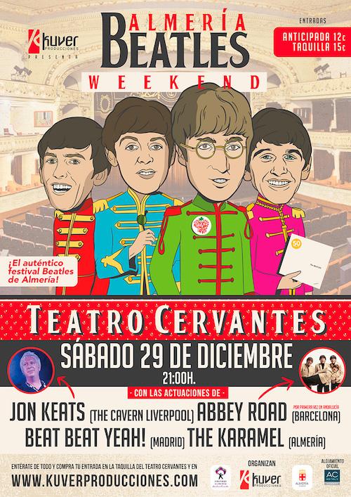 'Almería Beatles Weekend' despide el año poniendo en valor la vinculación de Lennon con la provincia