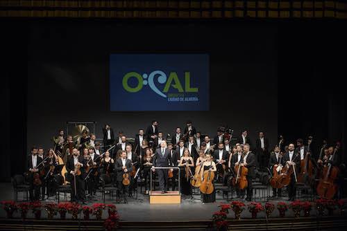 El concierto de Año Nuevo de la OCAL dará la bienvenida a la capitalidad gastronómica de Almería 2019