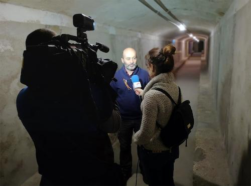 Los Refugios de Almería reciben la visita de Informativos Telecinco