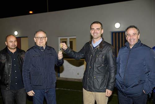 El Ayuntamiento invierte 96.000 euros en mejorar el equipamiento de las instalaciones del campo municipal de El Alquián