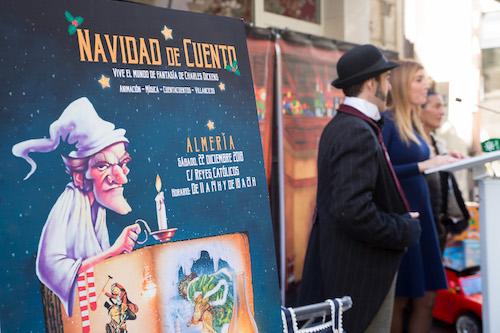 Almería vivirá una 'Navidad de Cuento', mañana, sábado, con una ambientación especial en la calle Reyes Católicos