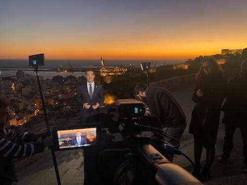 """El alcalde afirma en su mensaje de Navidad que Almería """"es una gran ciudad que en 2019 va a vivir un gran año"""""""
