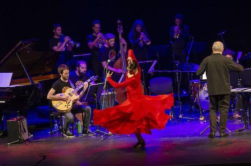 El jazz, el flamenco y la clásica dialogan en el concierto de la Clasijazz Big Band en el Auditorio