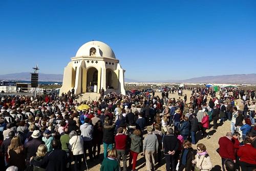 La Romería a Torregarcía congrega a más de 4.000 almerienses, en una jornada de devoción a la patrona la Virgen del Mar