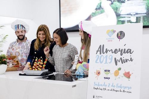 Los niños serán los protagonistas el sábado 2 de febrero de la Capitalidad Gastronómica con 'Almería 2019 Mini'