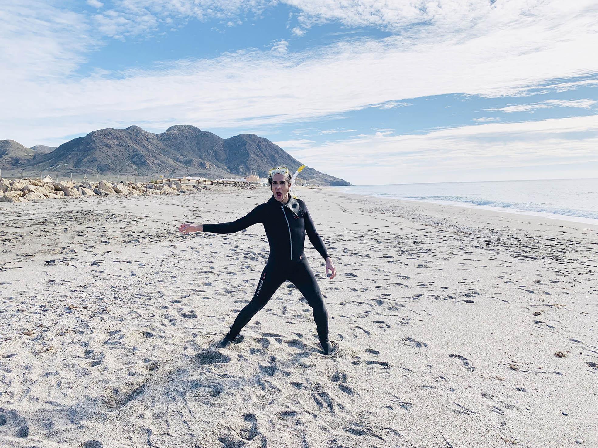 Mario Vaquerizo alaba las playas, clima y cocina de Almería e invita a visitar la ciudad durante todo el año