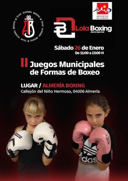 Los II JDM de Formas de Boxeo comenzarán el 26 de enero con técnicas sin contacto