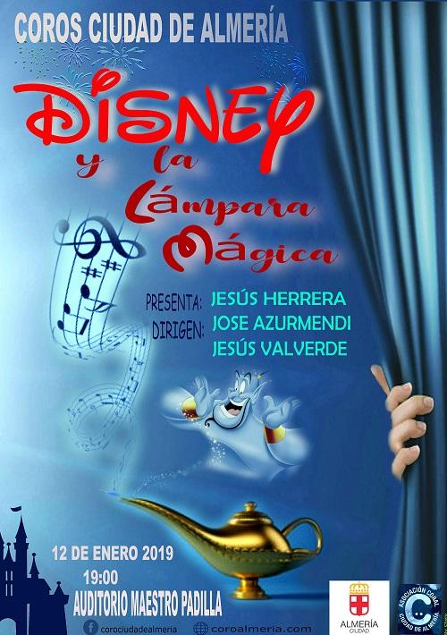 'Disney y la Lámpara Mágica', canciones de película para el Coro Ciudad de Almería