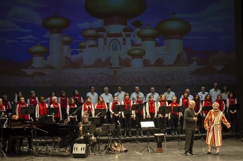 El Coro Ciudad de Almería divierte al público familiar con lo mejor del repertorio Disney