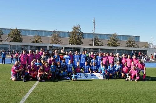 Zapillo City y Málaga CF Veteranos juegan un partido solidario a favor de la asociación ALTEA