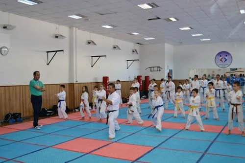 La escuela deportiva Kanku busca el éxito en la Liga Nacional Infantil de Kárate