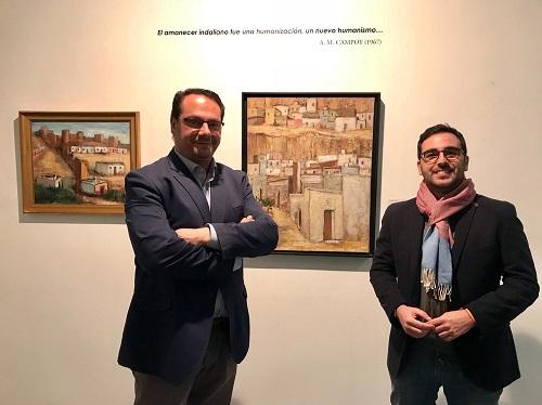 La exposición 'Indalianos en Madrid' conmemora el 70º aniversario de la presencia almeriense en el 'Salón de los Once' de Madrid