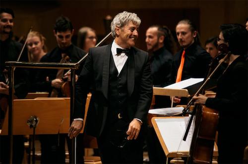 Alfonso Maribona con la Orquesta Sinfónica de España