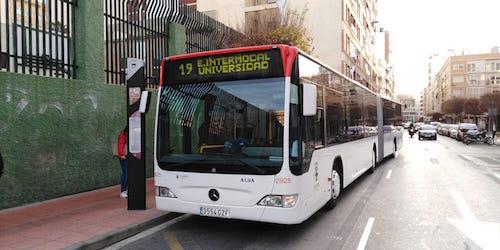 Nueva línea bus