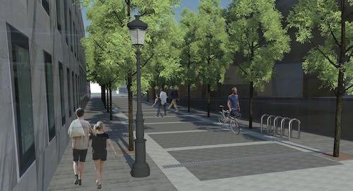 Peatonalización Calle Trajano