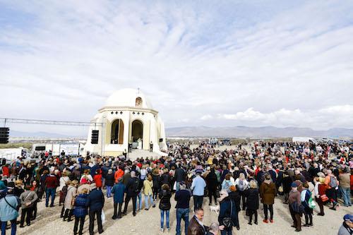 Torregarcía acoge el domingo a miles de romeros en la conmemoración del 516 aniversario de la aparición de la Virgen del Mar