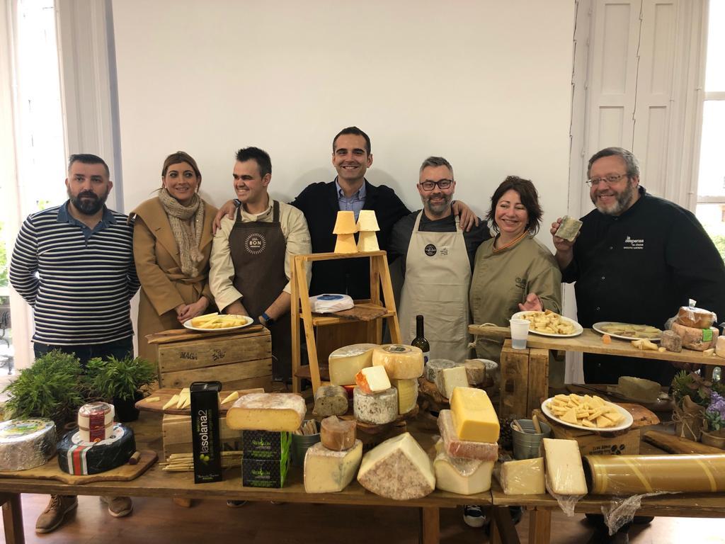 Degustación queso Almería