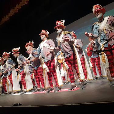 Agrupaciones carnaval Almería 2019