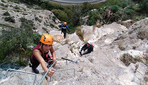 PMD Almería vía Ferrata