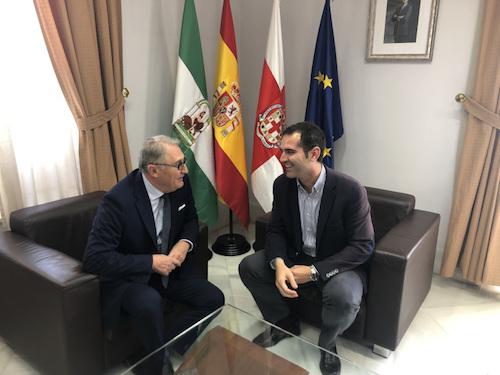 Alcalde Almería y Presidente Puerto