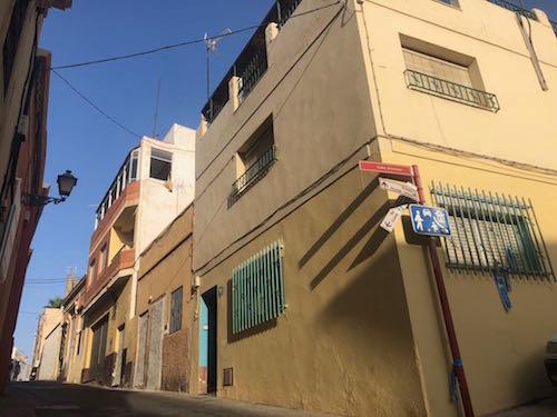 Obras entorno de La Alcazaba