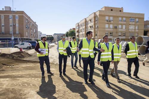 Obras calle Santiago Almería