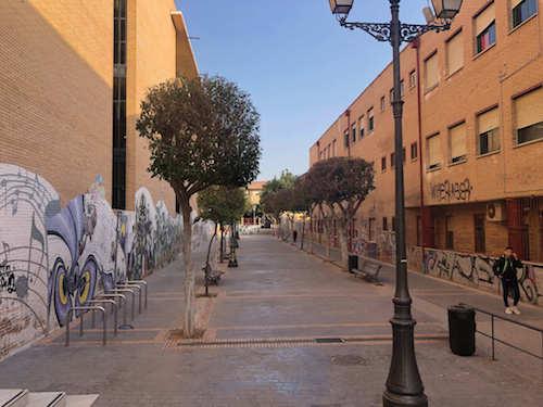 obras calle Guadarrama