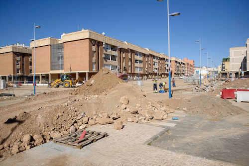 Obras C/Santiago Almería