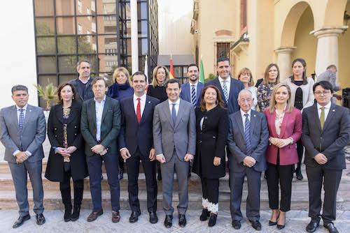 Alcalde Almería y Presidente JA