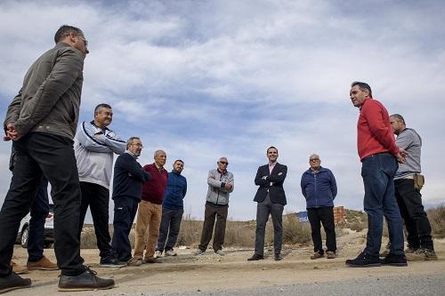 Mejora caminos rurales Almería