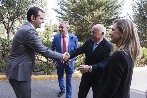 Alcalde y Consejero Salud Almería