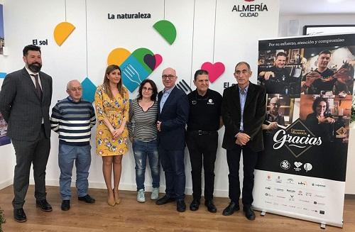 Gastronomía Almería 2019 camareros