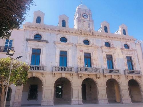 Ayuntamiento Almería fachada