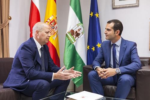 Alcalde Almería y Consejero Educación