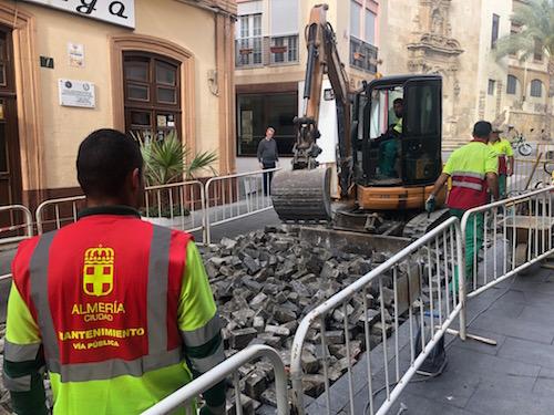 Almería obras Jovellanos