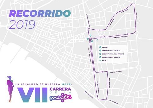 Plano Carrera Mujer Almería