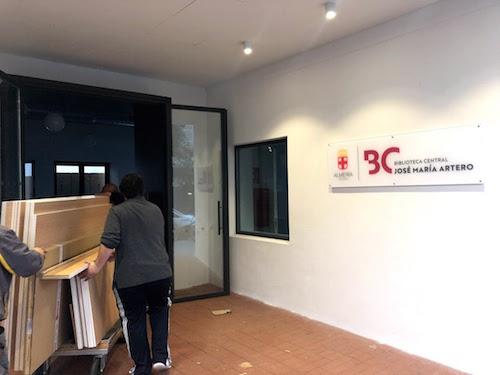 Biblioteca Municipal Almería material