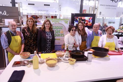 showcooking ONCE Almería 2019