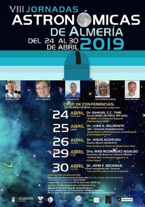 Cultura Jornadas Astronómicas Almería